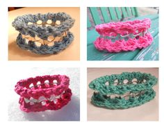 Soda Tab bracelets, fun...