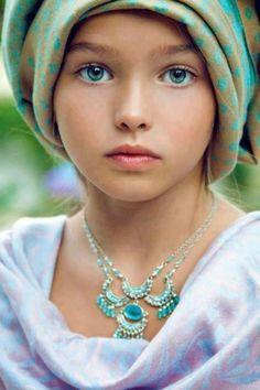 Angelic innocent beauty