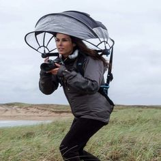 Nubrella - Hands-Free and Wind-Resistant Umbrella
