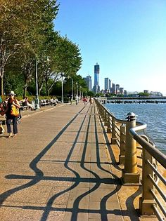 Take a stroll along the Hudson River - Things to do in New York City