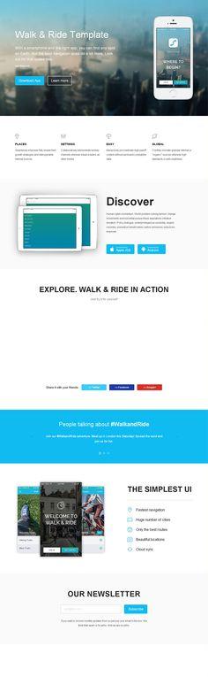 HTML5 app - Walk & Ride