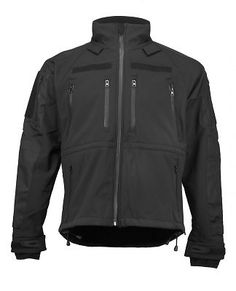 Softshell Jacke Mil-Tec Plus Schwarz M in Sport, Camping & Outdoor, Bekleidung   eBay