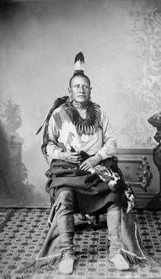 An American Indian named Good Chief of the Pawnee Nation. http://www.firstpeople.us/photographs/Good-Chief-Pawnee.html