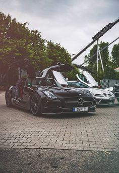 Mercedes-Benz SLS AMG Black Series & SLR McLaren