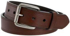 """Ariat Men's Triple Stitch Belt,Dark Copper,36"""" Waist Ariat. $34.95"""