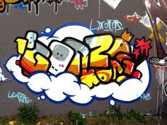 Bubble letters! #graffiti #typography