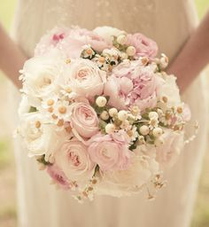 Pale pink spring bouquet