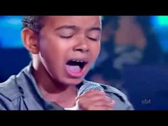 "Jotta A.-Agnus Dei- Brazillians Got Talent. A young boy sings ""Worthy is the Lamb, Agnus Dei. This video has over 8 million hits on Youtube."