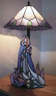 lamp & lady