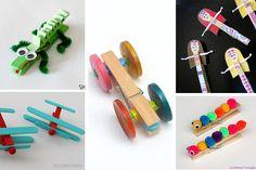 5 manualidades con pinzas, ¡ideas divertidas!