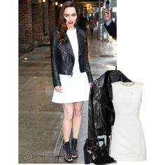 Emilia Clarke by blacksniper on Polyvore featuring T By Alexander Wang Emilia Clarke, Alexander Wang, Leather Skirt, Dresses For Work, My Style, Skirts, Polyvore, Fashion, Moda