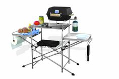 Buy BBQ Grill Table RV Outdoor Cooking Prep Folding for Camp Kitchen Camping Portabl at online store Camping Furniture, Outdoor Furniture Sets, Outdoor Decor, Outdoor Fun, Hiking Outdoor, Outdoor Tables, Outdoor Life, Outdoor Ideas, Home Design