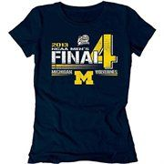 Michigan Wolverines 2013 Men's Basketball Tournament Ladies Final Four Bound Vanish T-Shirt