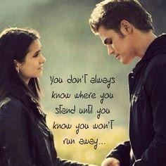 Elena and Stefan - The Vampires Diaries