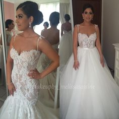 Steven Khalil wedding dress -magic with lace