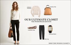 """February 2012   Shopbop """"Our Ultimate Closet"""" The Workwear Edition 14 Pieces 10 Looks  [Look 10]"""