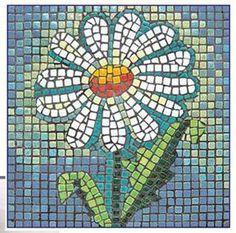 mosaic daisy<3<3<3