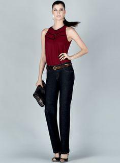 Um tipo de jeans para cada ocasião - Moda, Beleza, Estilo, Customizaçao e Receitas - Manequim - Editora Abril - Fotos: Vitor Pickersgill