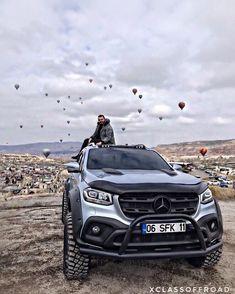 mercedes x class pickup offroad ; mercedes g wagon offroad New Mercedes Amg, Mercedes G Wagon, Mercedes Benz Trucks, Classic Mercedes, Benz G Class, Lux Cars, Suv Trucks, Weird Cars, Motor Car