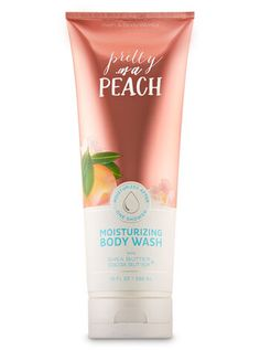 Bath And Body Works Pretty As A Peach Moisturizing Body Wash With Shea Butter And Cocoa Butter - Full Size Bath Body Works, Body Shop Toner, The Body Shop Logo, Body Shop Christmas, London Christmas, Body Shop At Home, Oil Shop, Bath And Bodyworks, Smell Good