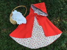 Capa Chapeuzinho Vermelho - costura