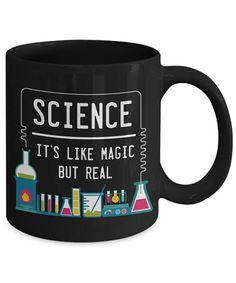 Science It's Like Magic But Real Funny Coffee Mug
