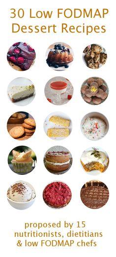 The 30 Best Low FODMAP Desserts organised by mygutfeeling.eu