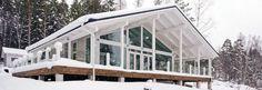 Japanese style log house - Polar Swan 84 - Honkatalot.fi