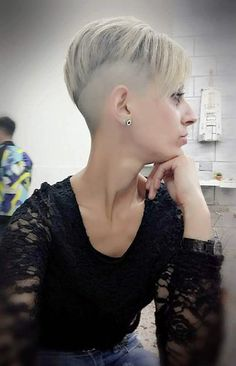 2018-05-17_11-21-22 Short Red Hair, Girl Short Hair, Short Hair Cuts, Short Hair Styles, Undercut Hairstyles, Trendy Hairstyles, Braided Hairstyles, Girl Hairstyles, Girls Short Haircuts