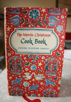 Vintage Merrie Christmas Cook book 1955 by FelicesFinds on Etsy