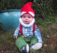 Garden Gnome, Strawberry, Starbucks, Rainbow Dash DIY kids costumes