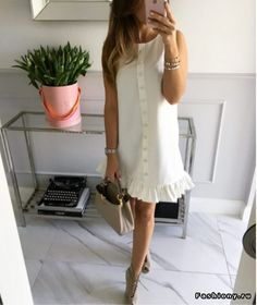 Mint Label, clothes for women who live with passion. Casual Dresses, Casual Outfits, Fashion Dresses, Short Sleeve Dresses, Vestido Casual, Summer Outfits, Summer Dresses, Mode Style, Dress To Impress