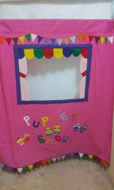 Puppet Theater / stage for Doorway / Hallway by puppetmaker, $64.99