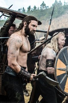 Rollo from Vikings.