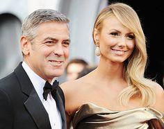 George Clooney y Stacey Keibler