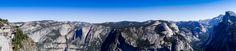 Panorama fait au parc de Yosemite aux USA www.voyage-aux-etats-unis.com/j6-yosemite-park/