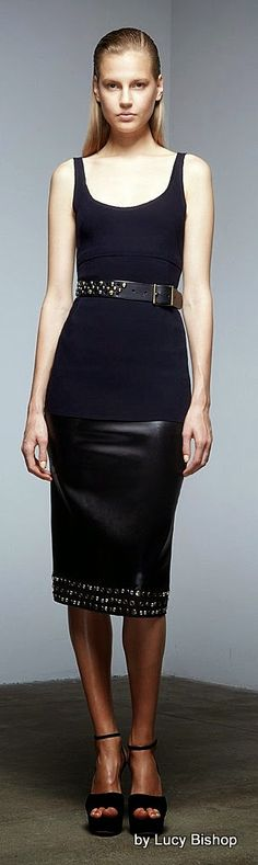 "Donna Karan Pre-Fall 2015 ""The Uniform of Dressing."""