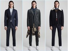 Tiger of Sweden updates its classic tailoring with contemporary wardrobe staples for fall-winter 2017.