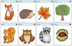 Zaubereinmaleins - DesignBlog Fall Games, Kindergarten Art, School Life, Teaching Materials, Forest Animals, Kids Learning, Projects To Try, Classroom, School Ideas