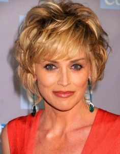 Layered Shag Hairstyle for Women Over 50