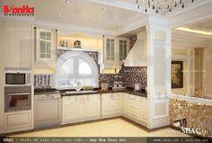 Thiết kế nội thất Pháp với nhiều công năng tiện nghi, giản lược bớt các chi tiết cầu kì nhưng vẫn đẹp thanh nhã