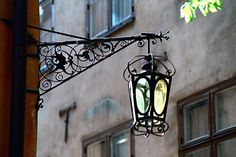 Old street lamp.: Photo by Photographer Jan Ohrstrom - photo.net
