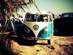 hippie bus beach - Google zoeken