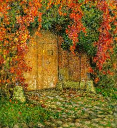The Athenaeum - The Portal (Henri Le Sidaner - No dates listed)