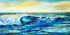 Morning Wave Painting
