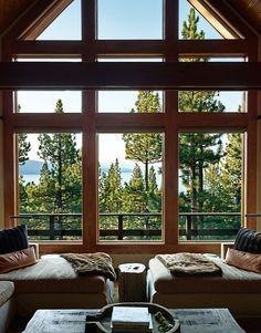 Дом с видом на озеро в США. Colorado HomesColorado SpringsRustic ...