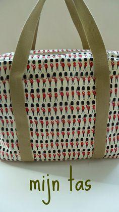 Ida door Karla - blog karla's creaties uit huis en tuin (patroon uit 'Mijn tas')