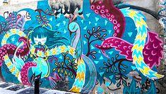 Street Art in El Carmen, Valencia, Spain - Julieta