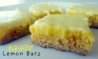 Six Sisters Gooey Lemon Bars. We love this recipe. Lauren has this in place of her birthday cake! #sixsistersstuff
