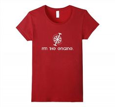 17.95$  Buy now - http://viory.justgood.pw/vig/item.php?t=zhmxwd33404 - Pedal I'M THE ENGINE T SHIRT funny Mountain Bike Tshirt Women 17.95$
